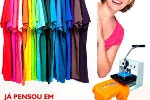 Maquina de estampar camisetas | Veja Preço e qual é o Melhor Equipamento