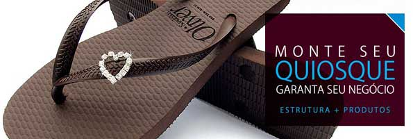 revenda no atacado sandalias oliver