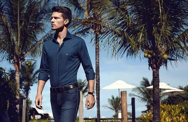 Camisas masculina Dudalina