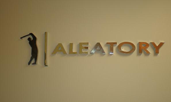 endereço da fabrica da aleatory