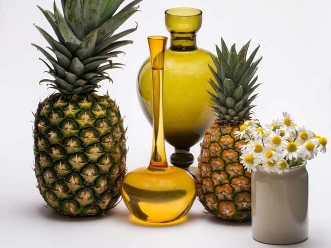 Suco detox com abacaxi gengibre e hortelã | Veja receitas e benefícios