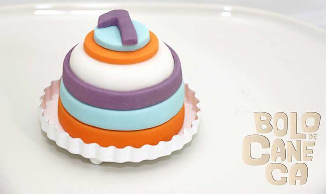 bolos decorados com pasta americana
