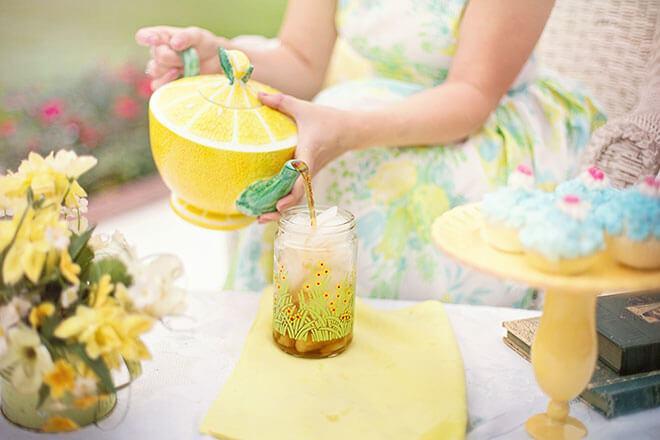 receita com gengibre e limão