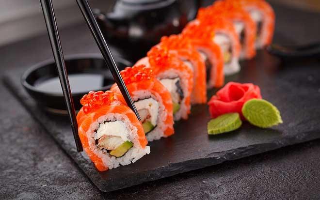quanto custa fazer sushi?