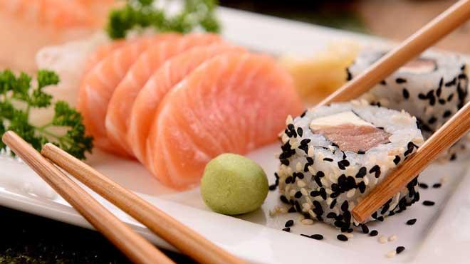 sushi delivery como montar