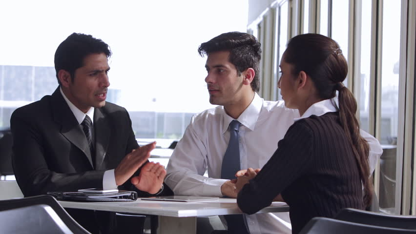Ms Colleagues Talking in Office Stock Footage Video (100% Royalty-free)  22533481 | Shutterstock